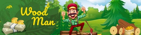 Игра Wood Man для заработка на iPhone